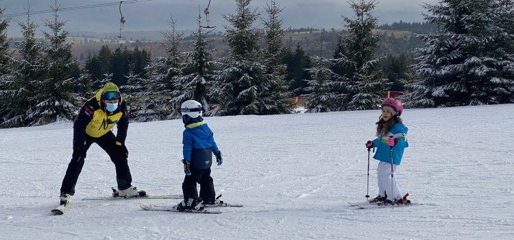 Ski la Toplița într-un decembrie pandemic