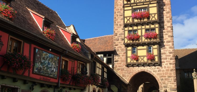 Riquewihr și Strasbourg